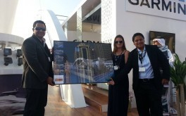 AMIT Garmin Unveiled the Biggest Stand at Dubai Boat Show 2014